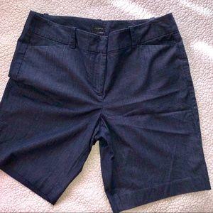 Ann Taylor Navy Bermuda shorts size 12